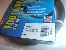 Afw-1 Pound Package Of Tooth Proof-#06-58#-Stainless S-Leader-Bright Color