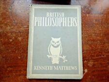 BRITISH PHILOSOPHERS  KENNETH MATTHEWS  2209