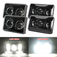 4x6'' LED Headlights Separate Hi-Lo Beam for Peterbilt 379 378 357 Chevy C10 C20