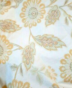 Pottery Barn PILLOW SHAMS Josephine  - Yellow Sunflowers  - King Size - A PAIR