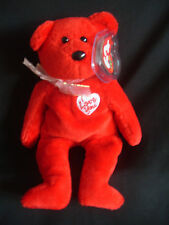 TY BEANIE BABY SECRET ( I LOVE YOU ) BEAR - MINT - RETIRED