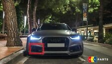 NEW Genuine audi rs6 13-18 o/s RIGHT Front Anti-Chocs Fog Light Grill 4g0807682t t94