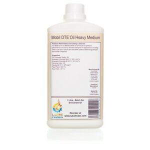 1L Mobil DTE Oil Heavy Medium ISO VG 68 Circulating Oil