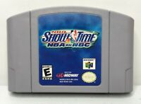 N64 NBA Showtime: NBA on NBC Video Game Cartridge *Authentic/Cleaned/Tested*