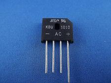 1x Brückengleichrichter KBU1010, 10A 1000V