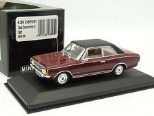 Minichamps 1/43 - Opel Commodore A 1966 Rouge