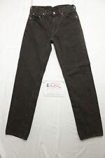 Levi's 501 boyfriend (Cod. E666) Tg45 W31 L34 Jeans braun gebraucht hohe Taille