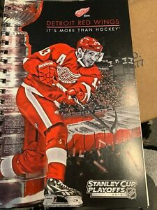 2013 Detroit Red Wings Stanley Cup Ticket Booklet