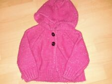 Young dimension baby girls hooded cardigan aged 6 / 12 mths