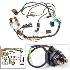 50cc-125cc CDI Wire Harness Stator Assembly Wiring For Chinese ATV Electric Quad