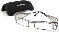 EYE WITNESS Brille by THEO Belgium LL 49 Crazy Steel Frame Square Copper Net