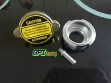 Weld On Radiator Filler Neck Billet Aluminum & 1 Free Radiator 1.1pa Cap NEW