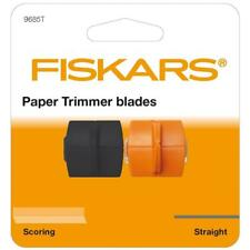 FISKARS PAPER TRIMMER cutting scoring BLADE triple euro 9865t