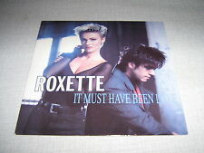 ROXETTE 45 TOURS UK IT MUST HAVE BEEN LOVE