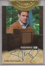 "Warehouse 13 Season 3 - Eddie McClintock ""Pete Lattimer"" Autograph Relic Card"