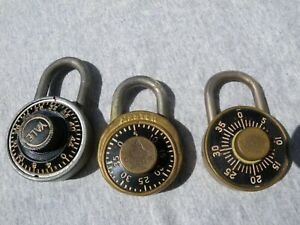 Vintage Combination Lock Yale Towne Master Champ Milwaukee Brass Dudley Chicago