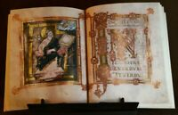 GOSPELS OF LUKE AND JOHN, 875 AD, Facsimile