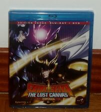 SAINT SEIYA - IL CAVALIERI DELL' ZODIACO-IL LOST CANVAS 2º-COMBO BLURAY+