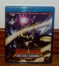 SAINT SEIYA-LOS CABALLEROS DEL ZODIACO-THE LOST CANVAS 2º-COMBO BLURAY+DVD-VOL.2