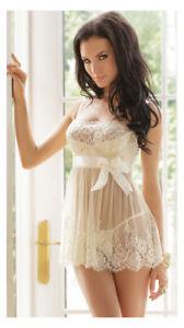 Love Sensation Erotic Sexy Chemise Lingerie Women Nightwear Babydoll Sleepwear