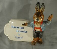 Original Vintage Hummel Goebel Advertising Sign / Plaque - Bavarian Bunnies