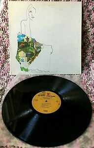 JONI MITCHELL VINYL ladies of the canyon LP Yellow Taxi WOODSTOCK circle game