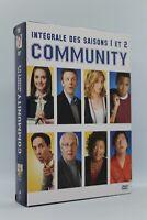 """coffret 8 dvd série """" Community """" intégrale saison 1 et 2"""