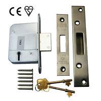 5 Lever British Standard Dead Lock Door Locks - ERA Fortress Replacement - Zoo