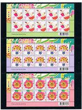THAILAND 2014 New year Greeting (2) F/S 3(15b x 10)
