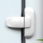 Home Refrigerator Fridge Freezer Door Lock Latch Catch Toddler Kids 1 Pack White