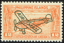Scott # C48 - 1933 - ' Pier No. 7, Manila Bay ', Ovptd. Air Mail