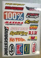 Racing Decal Yamaha Motocross Motorcycle ATV Helmet Sticker