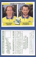 FIGURINA CALCIATORI PANINI 1994/95 - NUOVA/NEW N.413 MARAN/D'ANGELO - CHIEVO