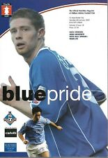 OLDHAM V MANCHESTER CITY 2005 F.A CUP MATCHDAY PROGRAMME - 08/01/2005