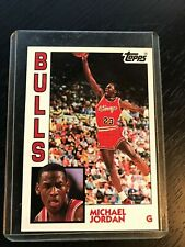 1992-93 Topps Archives Micheal Jordan #52 Rookie Card Print.