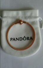 Authentic Pandora Rose  Mesh Bangle bracelet
