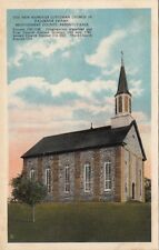 Postcard New Hanover Lutheran Church Falckner Swamp Pa
