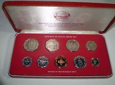 MALTA Decimal Proof Set - year 1978 uncirculated coins!