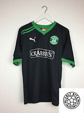 HIBERNIAN 11/12 Away Football Shirt (M) Soccer Jersey Puma