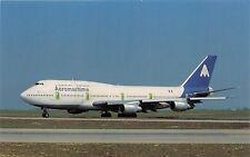 AEROMARITIME AIRLINES BOEING B-747-3B3 F-GETB MSN 23480 POSTCARD