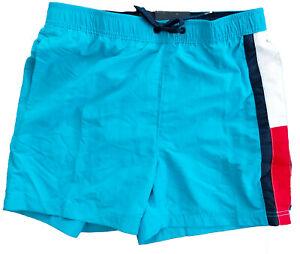 TOMMY HILFIGER Herren Badeshorts Badehose Swim Shorts blau L