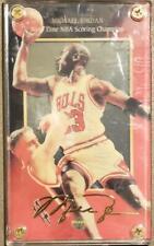 1997 Michael Jordan Upper Deck Nine Times Scoring Champion Gold Signature Card