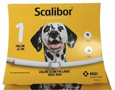 Scalibor Dog Collar 65 cm For Large Dogs Fleas & Ticks Protector Band Exp.3/2023