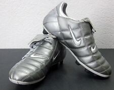 Nike Total 90 Soccer Cleats MENS (6.5 US) Synthetic METALLIC SILVER VERSATRACT