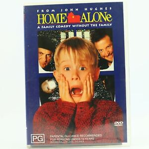 Home Alone Macaulay Culkin Joe Pesci (DVD,2001) Good Condition Free Tracked Post