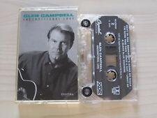 GLEN CAMPBELL 'UNCONDITIONAL LOVE' CASSETTE,1991 CAPITOL, RARE XDR DIGITAL TAPE.
