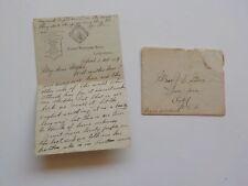 Ship Letter 1904 Irish Girls Queenstown Ireland North Western Hotel Liverpool Nr