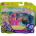 Polly Pocket Pollyville Sunshine Beach Playset New Kids Childrens Toy