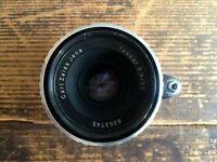Zeiss Tessar 2.8 50mm // Zebra // Exa Exa Objektiv / lens - Classic-Camera-STORE