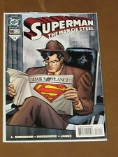 SUPERMAN THE MAN OF STEEL #66 NM WHAT DOES SUPES MEAN TO PEOPLE OF METROPOLIS?